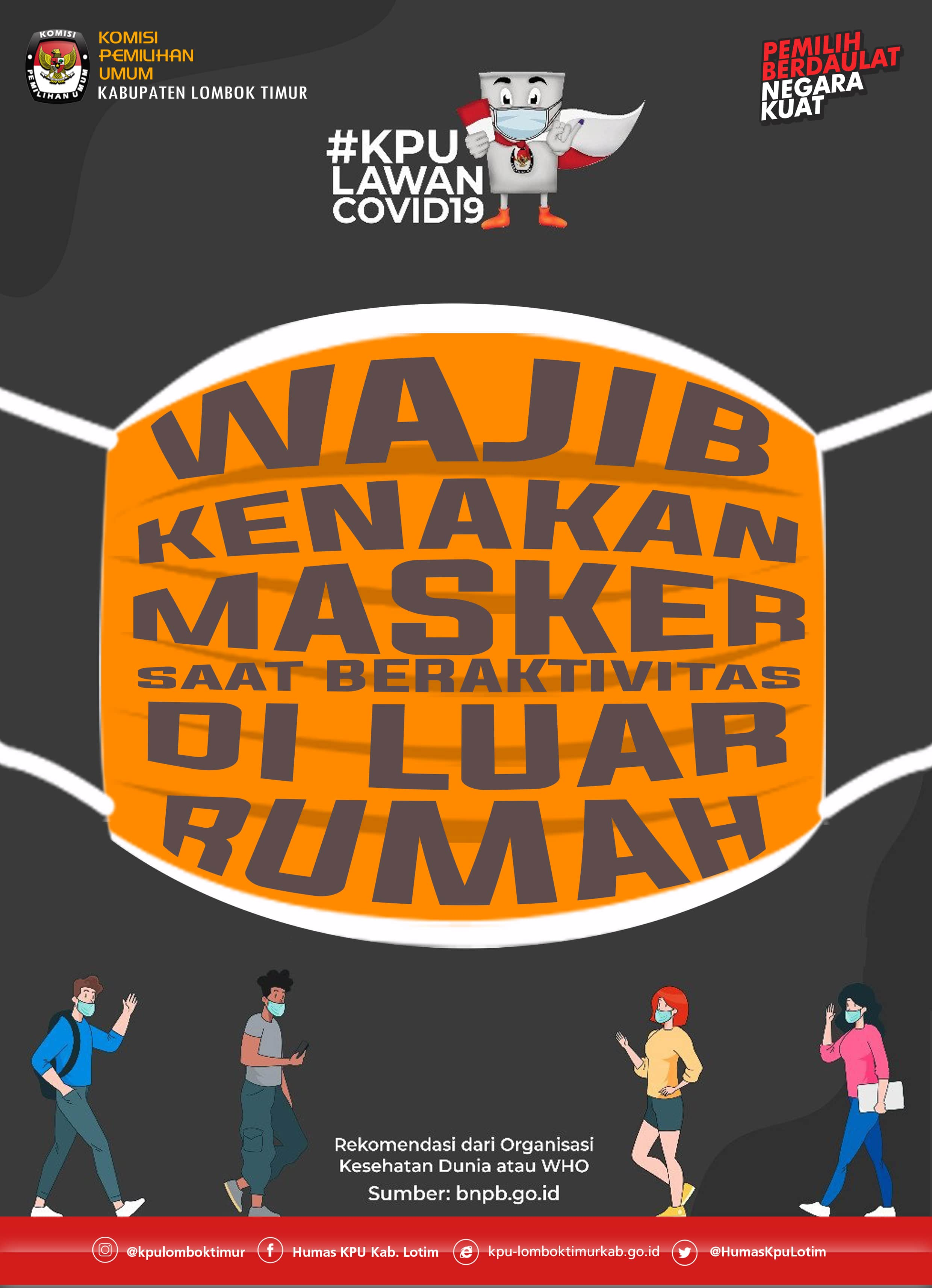 Stay safe #dirumahaja and keep healthty